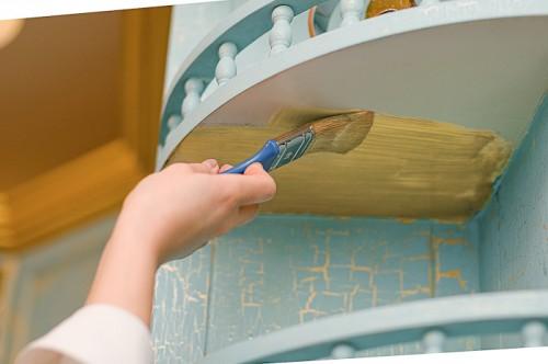 Покрасить кухонный гарнитур