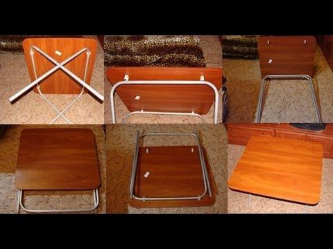 Раскладной Столик и Стульчики из Труб для пикника