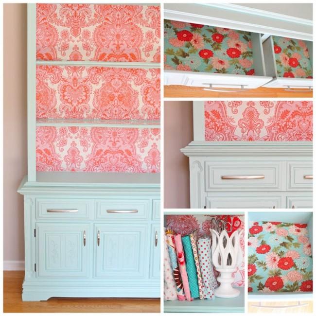 Как украсить старый шкаф своими руками в домашних условиях 96