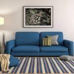 Сдержанный цвет дивана