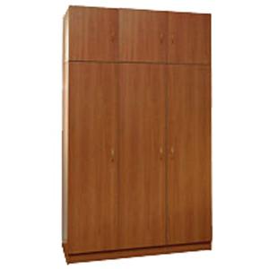 Шкаф для одежды трехстворчатый с антресолью