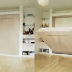 Шкаф-кровать в нише