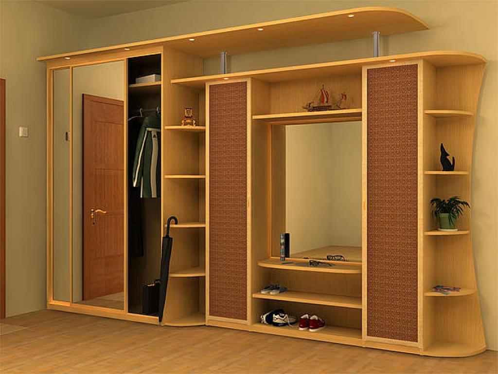 Шкаф купе: внутреннее наполнение в прихожую, фото, примеры.