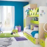 Спроектировать детскую комнату для двоих детей с небольшой разницей в возрасте