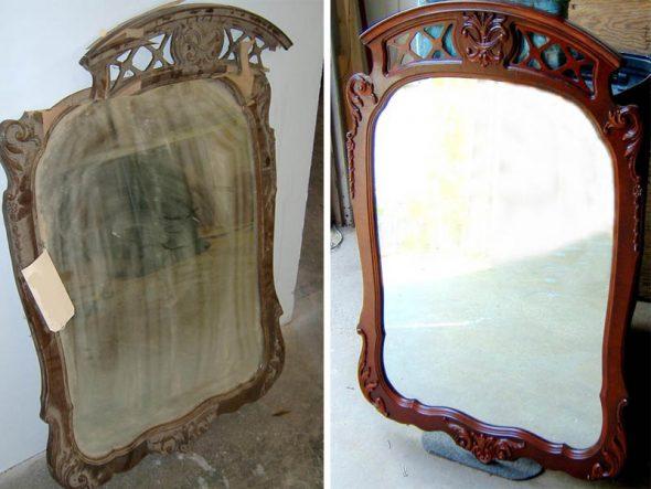 Старое зеркало фото