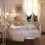 Текстиль в спальне в стиле прованс