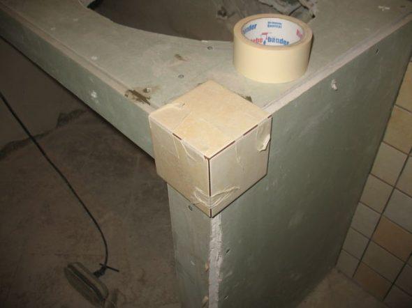 Тумба с раковиной для ванной