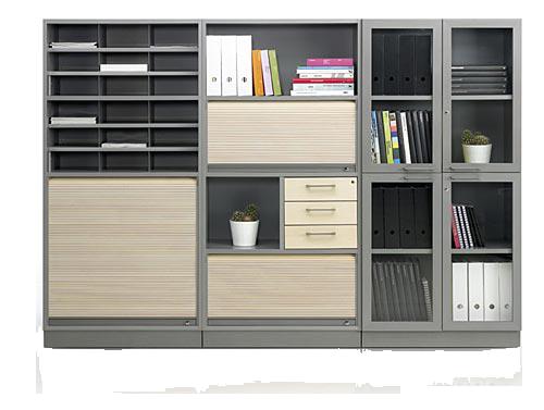 Удобный шкаф для офиса