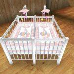 Варианты кроваток для новорожденных