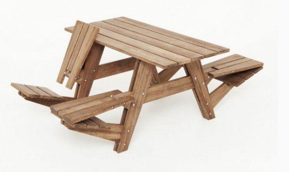 Варианты применения столов