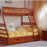 Выбираем двухъярусную детскую кровать
