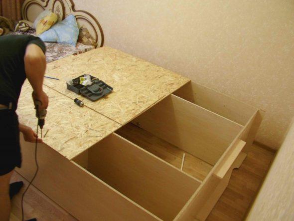 Задняя стенка для шкафа