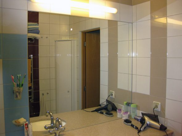 Зеркало в ванной в квартире