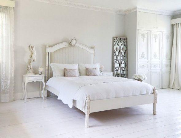 декорированное изголовье кровати – ноты изыска в спальне