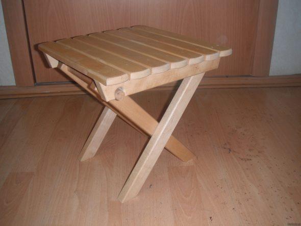 делать складной стул