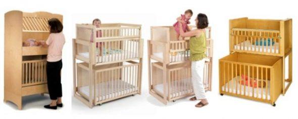 дешевые кроватки для двойни