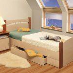 детские полуторные кровати с ящиками