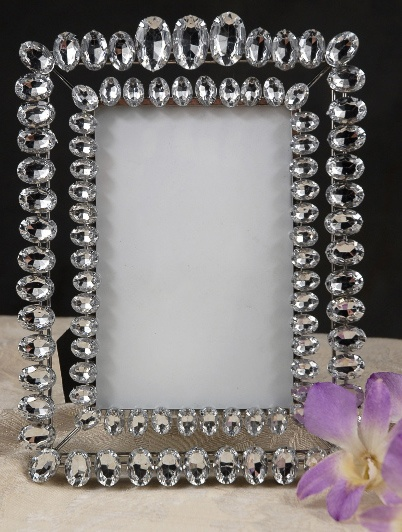 дизайн зеркала камнями