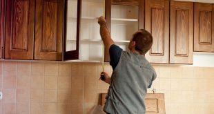 фиксация шкафов на кухне