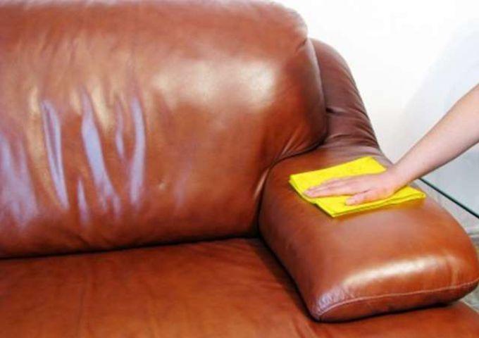 Как вывести пятна с дивана экокожа фото