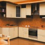 угловая кухня гарнитур