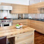 угловая кухня современная