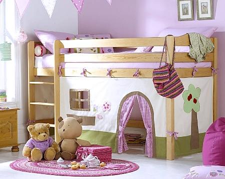 Двухъярусные кровати для девочек своими руками