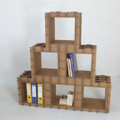 картонный стеллаж