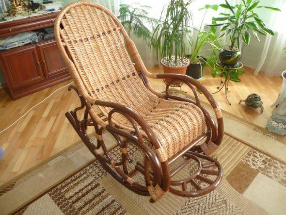 кресло из ивы