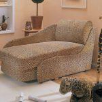 кресло кровать леопардовое