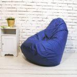 кресло мешок синее