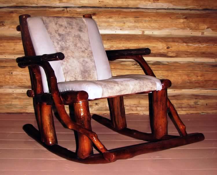 Кресло качалка своими руками из бруса 24