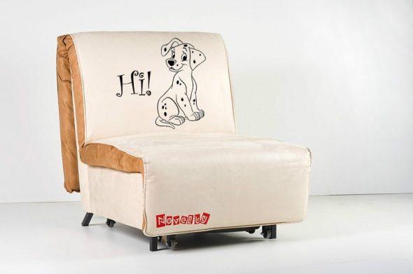 кресло кровать далматин