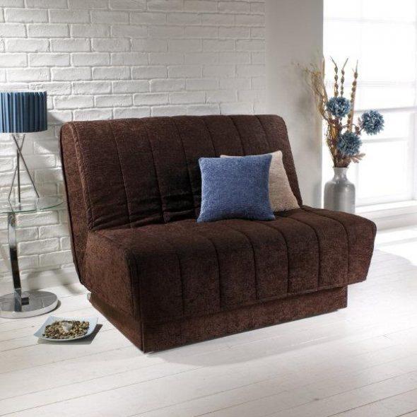 коричневое кресло кровать