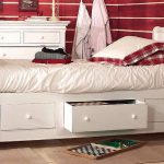 кровать Country Corner из коллекции HARMONIE с выдвижными ящиками