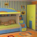кровать Для Комнаты Детей