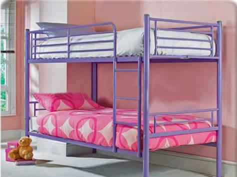 кровати металлические, фотография