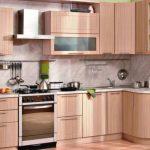 угловой шкаф на кухне дизайн