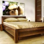материал кровати из дерева