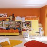 мебель создает динамичное и яркое пространство