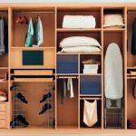 хранение вещей в шкафу купе