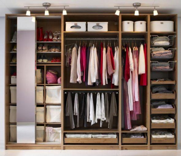 Как организовать правильное хранение вещей в шкафу: советы, .