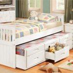 односпальные кровати с ящиками для детской