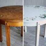 отреставрировать старый стол