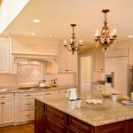 кухонные шкафы просторная кухня