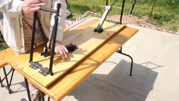 раскладной стол для пикника фото