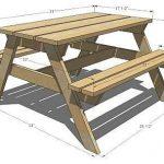 Как сделать столик для пикника фото 205