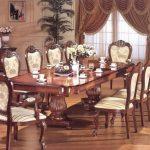 стулья для гостиной классика
