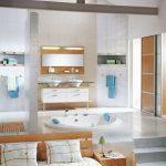 тумба для ванной в интерьере