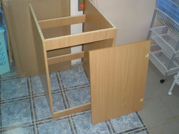 Как сделать шкаф под мойку для кухни
